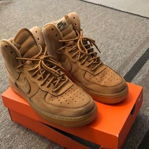 Other - Nike Air Force wheat